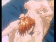 Jeune pucelle chaudement bais�e par un couple de pervers